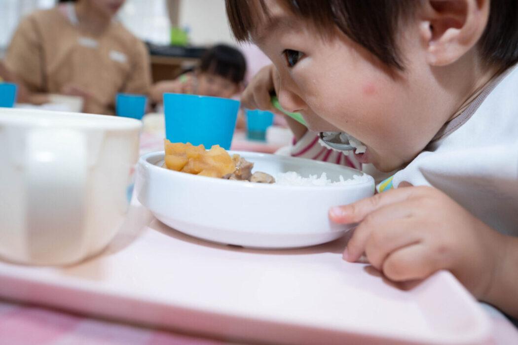 小規模保育園の食事
